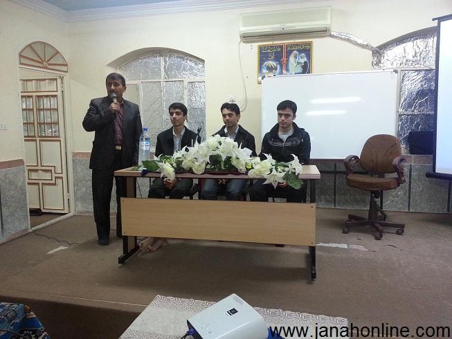 جلسه ی مشاوره داوطلبان کنکور در روستای گچویه باحضور رتبه های برتر برگزارشد + عکس